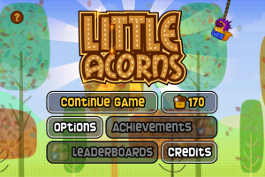 Little Acorns: Main Menu